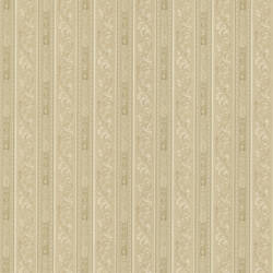 Lorenza Taupe Scroll Stripe 987-56509
