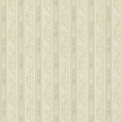 Lorenza Light Grey Scroll Stripe 987-56510