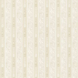 Lorenza Cream Scroll Stripe 987-56511