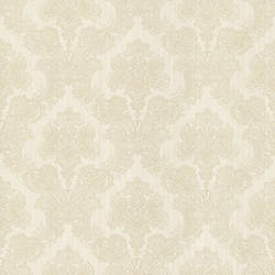 Monalisa White Damask Fabric 987-56549
