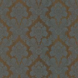 Monalisa Brown Damask Fabric 987-56552