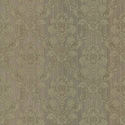 Monalisa Grey Damask Fabric 987-56553