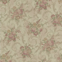 Maria Brass Floral Scroll 987-56586