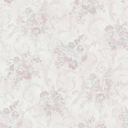 Maria Mauve Floral Scroll 987-56587