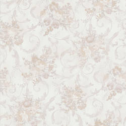 Maria Taupe Floral Scroll 987-56589