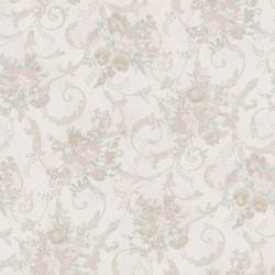 Maria Champagne Floral Scroll 987-56591