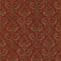 Louis Red Damask 987-75327