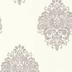 Duchess Silver Damask 671-68502