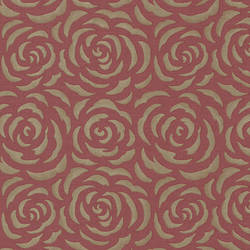 Rosette Red Rose Pattern 671-68524