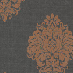 Duchess Orange Damask 671-68531