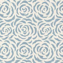 Rosette Aqua Rose Pattern 671-68534