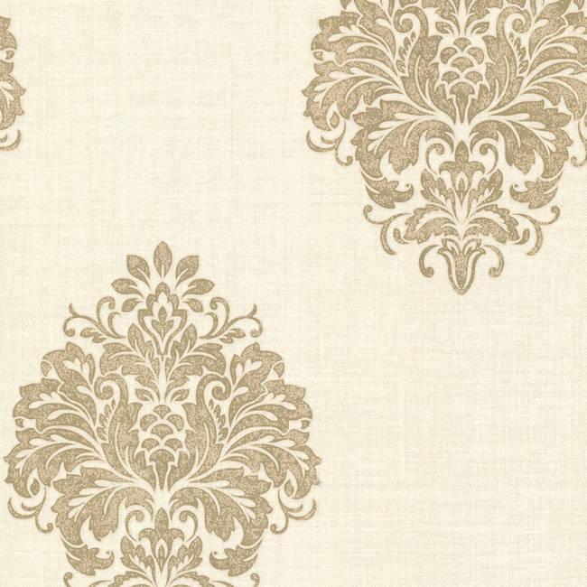 Duchess Gold Damask 671-68543