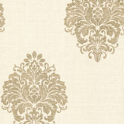 Duchess Gold Damask 671-68543