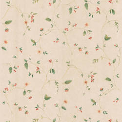 Belladonna Beige Berry And Floral Trail 418-59300
