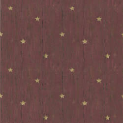 Jefferson Red Wooden Panel With Stars 418-60019