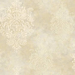 Beige Mulberry Medallion SIS40556
