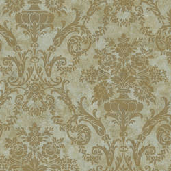 Green Larkspur Damask SIS40594