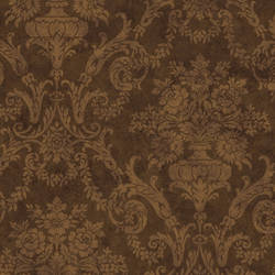 Brown Larkspur Damask SIS40595