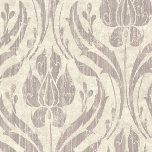 Carrara Taupe Textured Damask 672-20031