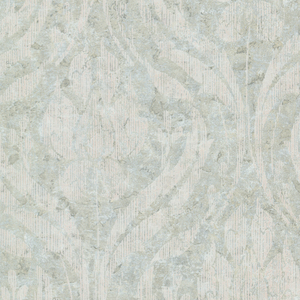 Carrara Light Green Textured Damask 672-20032