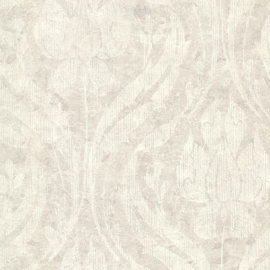 Carrara Light Grey Textured Damask 672-20034