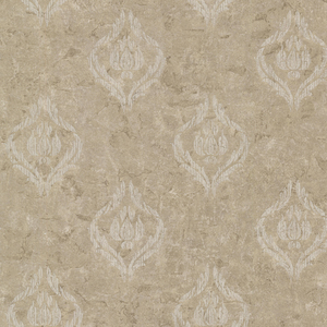 Benza Bronze Small Textured Damask 672-20035