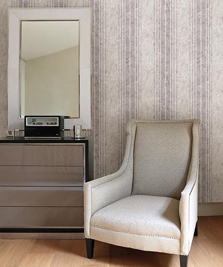 Conetta Lavender Multi Stripe Texture 672-20041