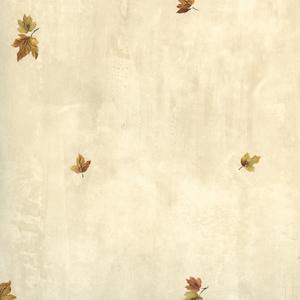 Sonny Taupe Maple Toss Wallpaper HTM49451
