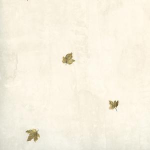 Sonny Blue Maple Toss Wallpaper HTM49453