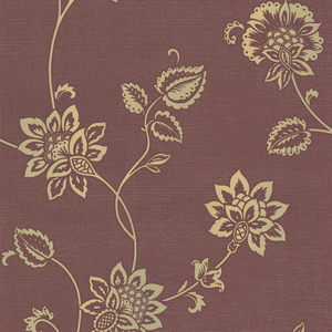 Gemini Burgundy Jacobean Trail 484-68076