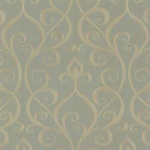 Demeter Green Glamorous Ogee Scroll 484-68091