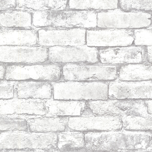 Brickwork Light Grey Exposed Brick Texture 2604-21261