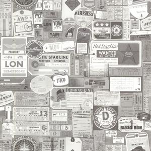 Souvenir Grey Vintage Tags 2604-21269