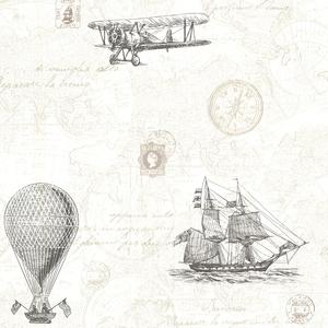 Explorer Fog Antique Map 2604-21244