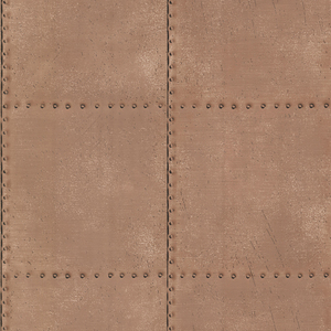 Riveted Copper Industrial Tile 2604-21253