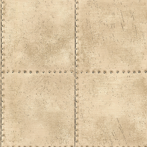 Riveted Champagne Industrial Tile 2604-21254