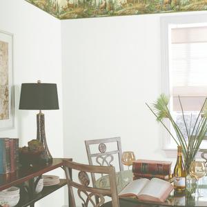 Fern Green Whitetail Portrait Border HTM48461B