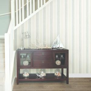 Franz White Grain Texture Stripes Wallpaper HTM49512