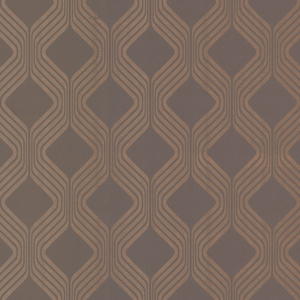 Alcaston Taupe Geometric Ogee 493-ITB022