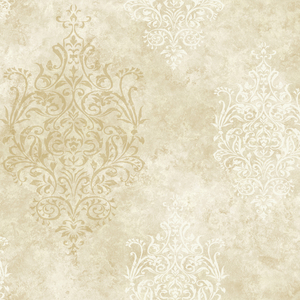 Neutral Mulberry Medallion PN40553