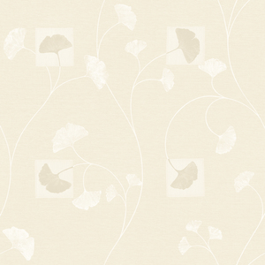 Cream Gingko Leaves PN58621