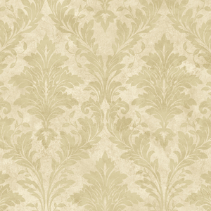 Yellow Avalon Damask PN58641