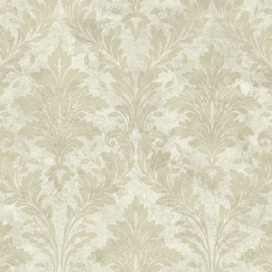 Beige Avalon Damask PN58643
