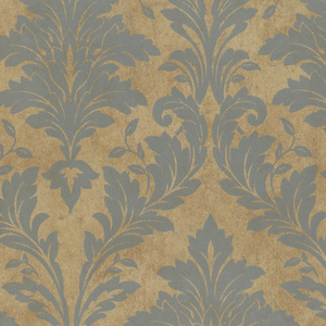Brown Avalon Damask PN58644