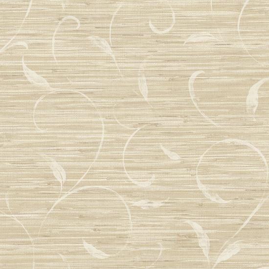 Neutral Autumn Breeze Grasscloth PN58692
