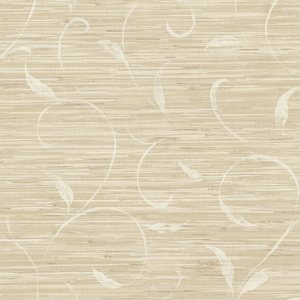 Neutral Autumn Breeze Grasscloth PN58692