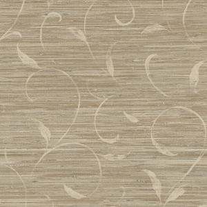 Brown Autumn Breeze Grasscloth PN58693
