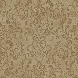Espresso Country Damask PN66348