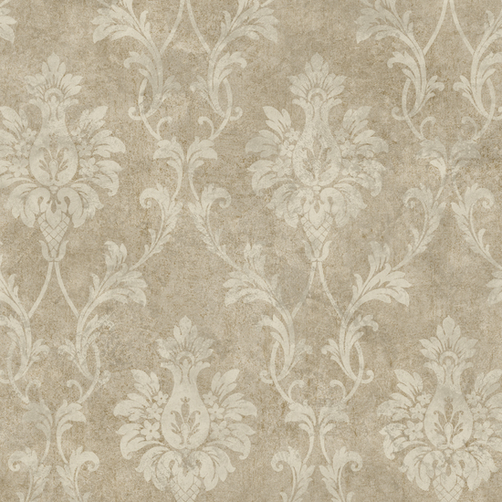 Cream Pineapple Damask PN714315