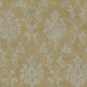 Brown Pineapple Damask PN714316